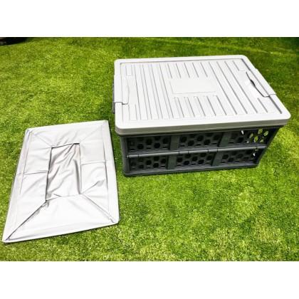 WATERPROOF FOLDING MULTIPURPOSE COMPARTMENT STORAGE BOX